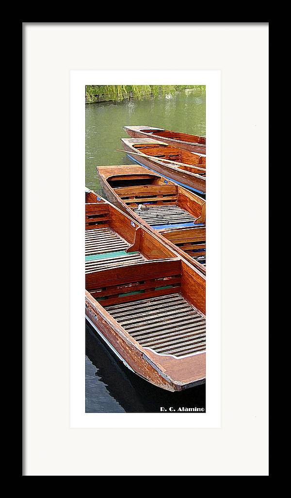 Citymarks Framed Print featuring the photograph Citymarks Cambridge by Roberto Alamino