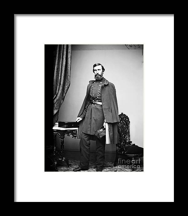 1863 Framed Print featuring the photograph Civil War: Paymaster by Granger