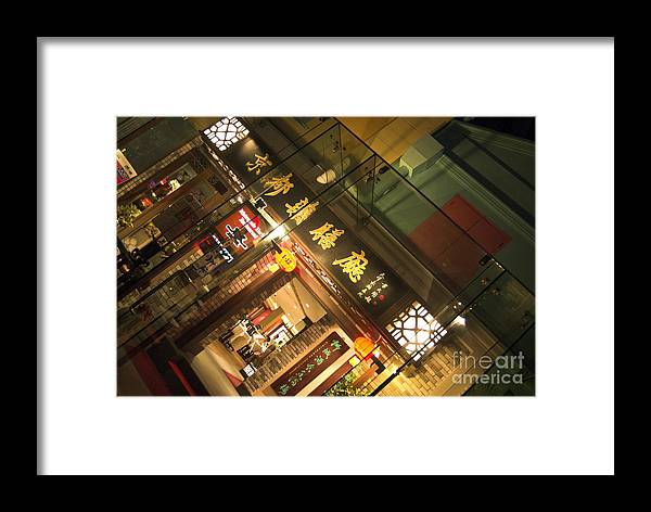 Restaurant;restaurants;zone; Framed Print featuring the photograph Clarke Quay Restaurant by Mark Azavedo