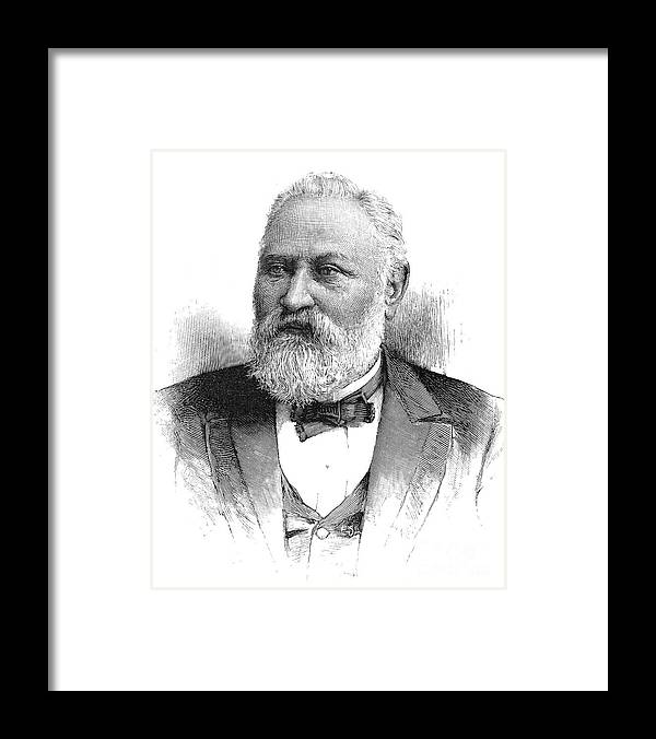 19th Century Framed Print featuring the photograph Claus Spreckels (1828-1908) by Granger
