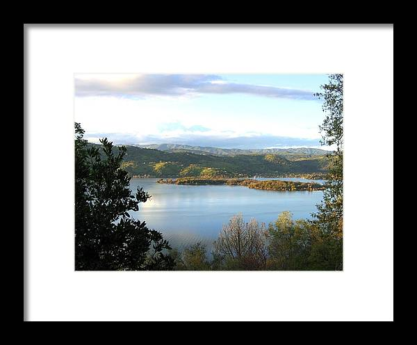 Clear Lake Framed Print featuring the photograph Clear Lake California 2 by Will Borden