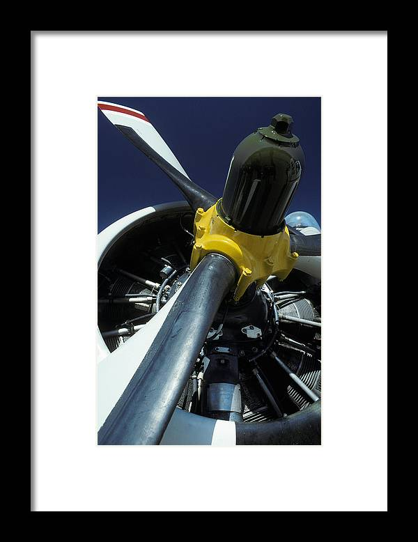 Avalon International Airshow Framed Print featuring the photograph Closeup Of A Military Grumman Tracker by Jason Edwards
