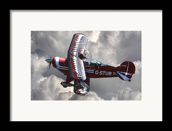 Pitts Framed Print featuring the photograph Cloud Dancer by Kris Dutson