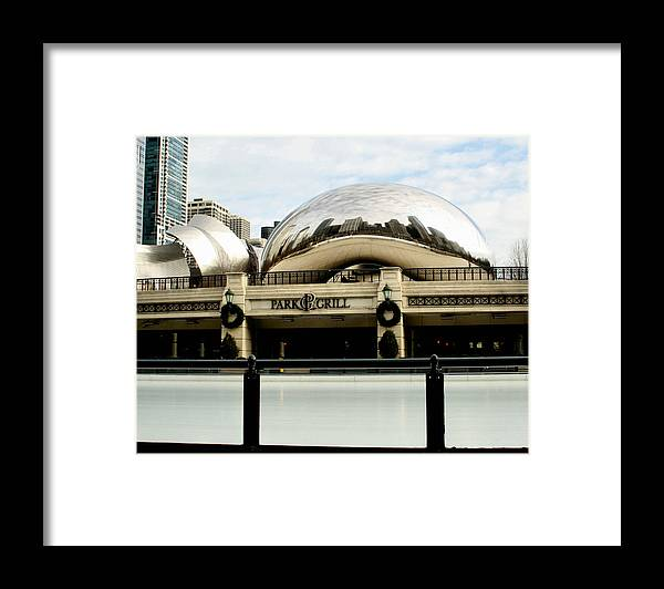 Chicago Framed Print featuring the photograph Cloud Gate - 2 by Ely Arsha