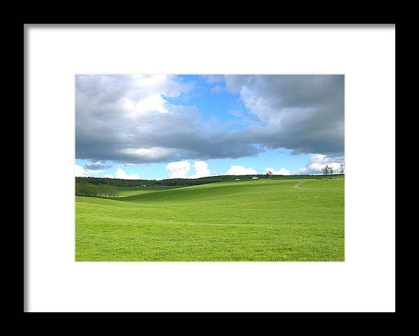 Photograph Framed Print featuring the photograph Cloud Shadow by Sarah Gayle Carter