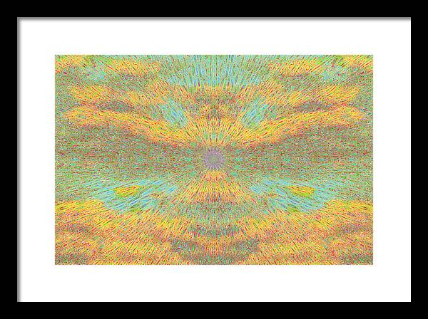 Framed Print featuring the painting Cloud Spirit by Steve Fields