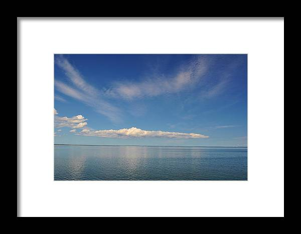 Cloud Framed Print featuring the photograph Clouds Of Prince Edward by Jeff Moose