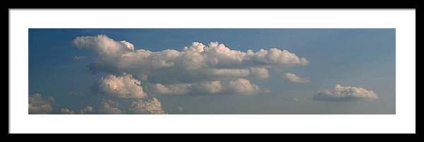 Cloud Framed Print featuring the photograph Cloudscape by Clifton Fomby