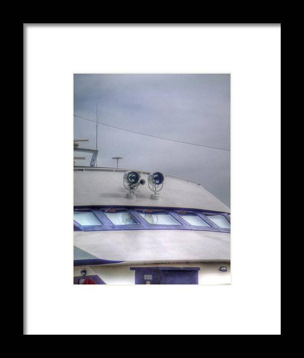 Live Life's Adventures Framed Print featuring the digital art Cockpit by Barry R Jones Jr