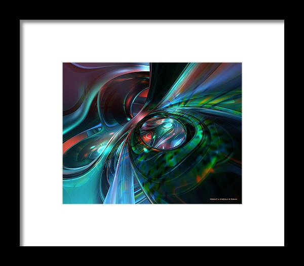 Canvas Framed Print featuring the digital art Color Fast Faces by G Adam Orosco