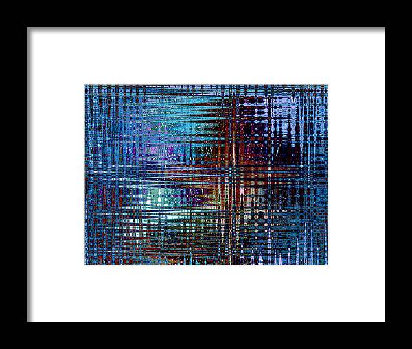Color Framed Print featuring the photograph Color Frequency 2 by Tanya Jacobson-Smith