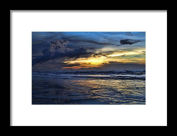 Sunset Framed Print featuring the photograph Color of Light V3 by Douglas Barnard