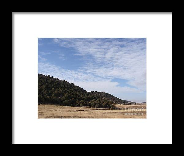 Gun Framed Print featuring the photograph Colorado Outlands by Jack Norton
