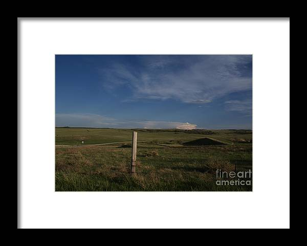 Colorado Framed Print featuring the photograph Colorado Post by Jack Norton