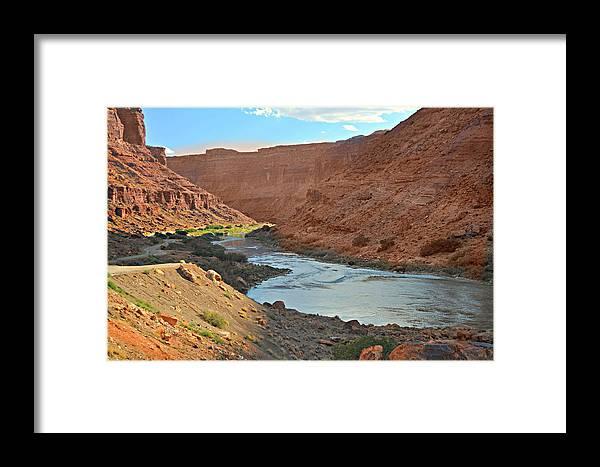 Colorado Framed Print featuring the photograph Colorado River Canyon 1 by Marty Koch