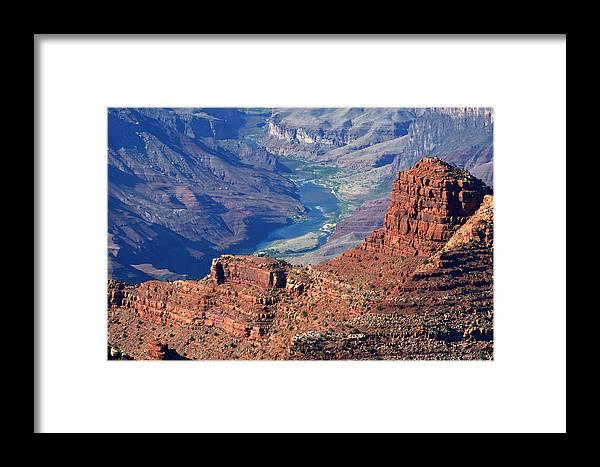 Colorado River Framed Print featuring the photograph Colorado River I by Julie Niemela