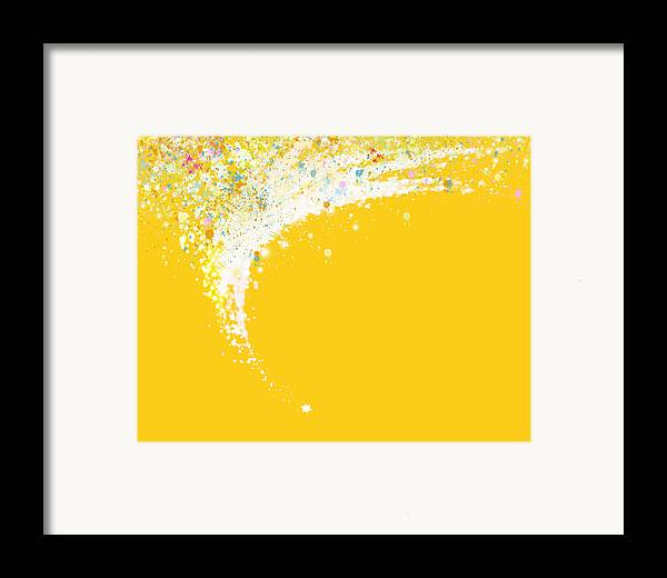 Art Framed Print featuring the painting Colorful Curved by Setsiri Silapasuwanchai