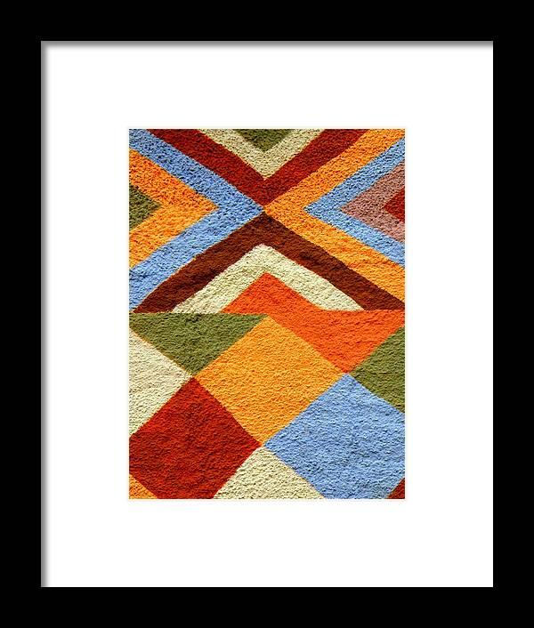 Florida Framed Print featuring the photograph Colorful Patterns by Artisan De l Image