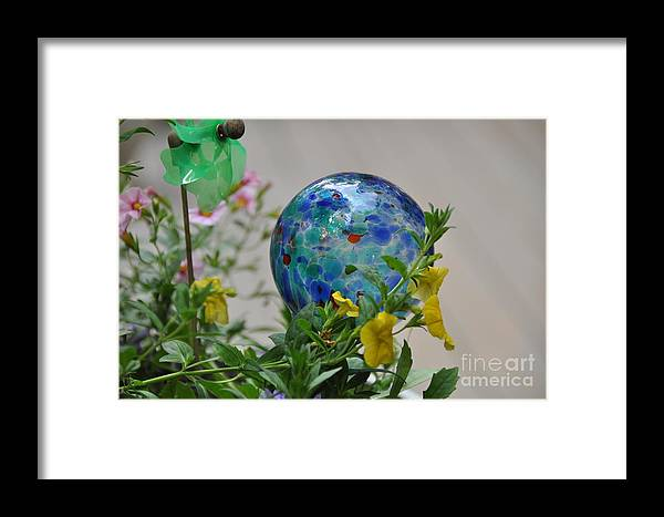 Pinwheel Framed Print featuring the photograph Colors by John Black