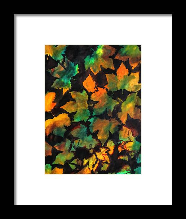 Autumn Framed Print featuring the painting Colors Of Autumn by Harri Spietz