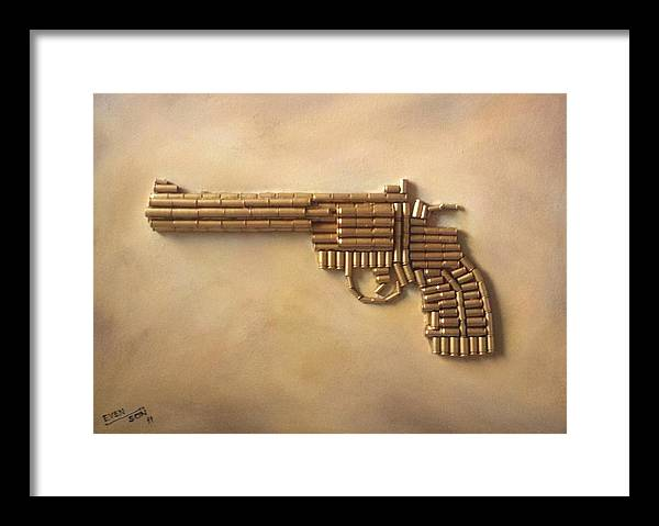 Colt Python  357 Magnum Framed Print