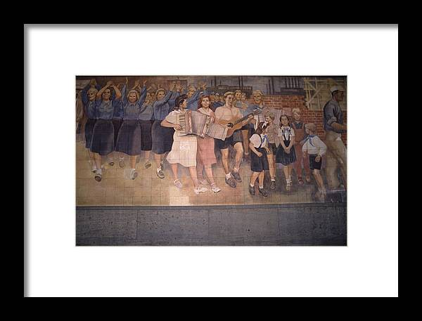 Inspiration Framed Print featuring the photograph Communism Victorious by Shaun Higson
