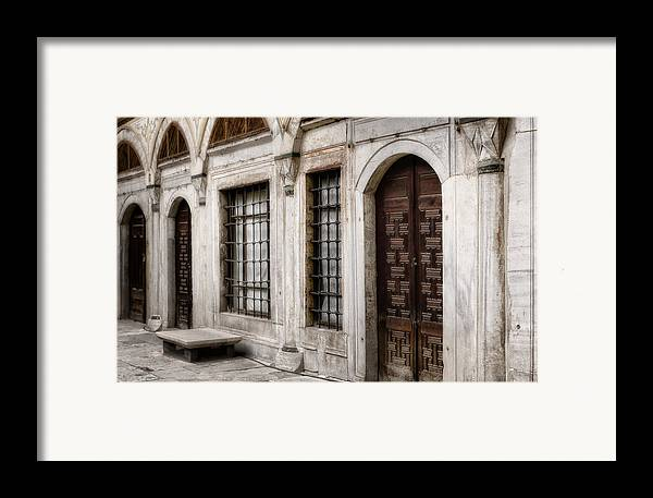 Ancient Framed Print featuring the photograph Concubine Court by Joan Carroll