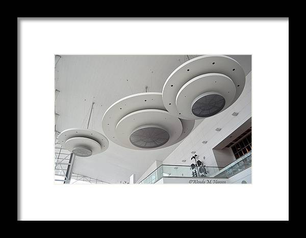 Architecture Framed Print featuring the photograph Convention Center Interior by Wendy Hansen-Penman