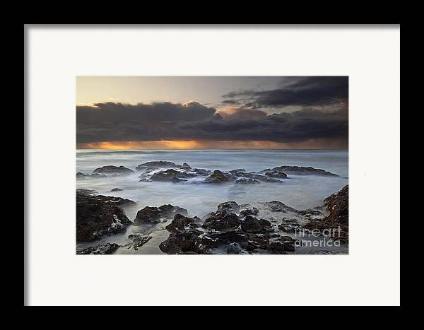 Water Photography Framed Print featuring the photograph Cooks Chasm by Keith Kapple