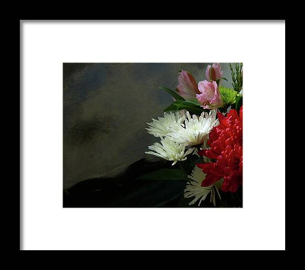 Flowers Framed Print featuring the photograph Cool Beauty by Joseph Ferguson