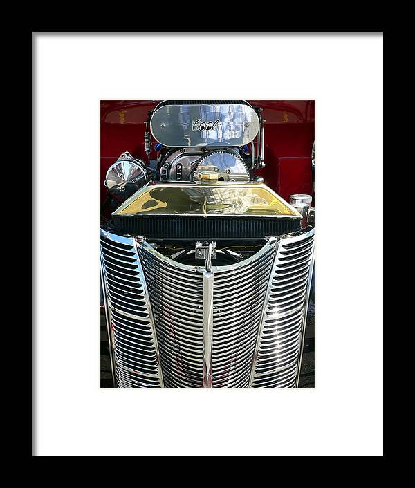 Classic Car Framed Print featuring the photograph Cool by Jeff Lowe