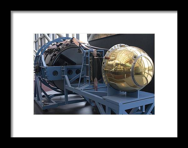 Air And Space Framed Print featuring the photograph Corona Spy Satellite by Mark Williamson