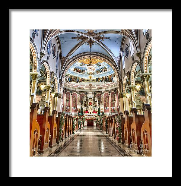 Framed Print featuring the photograph Corpus Christi 01 by Chuck Alaimo