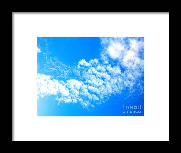 Sky Framed Print featuring the photograph Cotton Candy Sky by Kimberly E Klein