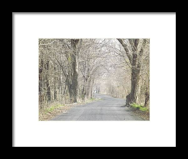 Country Framed Print featuring the photograph Country Road by Shannon Bever