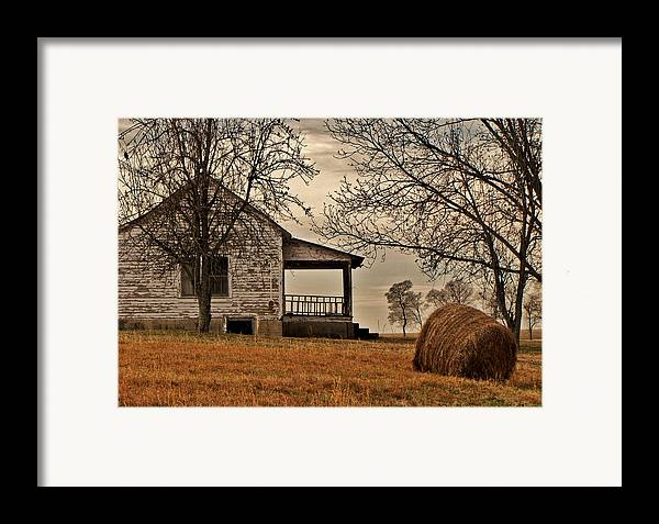 Country Framed Print featuring the photograph Country World by Victoria Lawrence