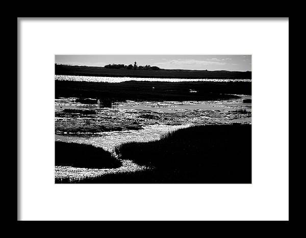 Jezcself Framed Print featuring the photograph Covering The Marshes by Jez C Self