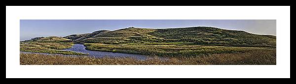 Coyote Framed Print featuring the photograph Coyote Hills Regional Park by Nathaniel Kolby