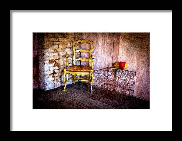 Crab Pots Framed Print featuring the photograph Crabbers Corner by Williams-Cairns Photography LLC