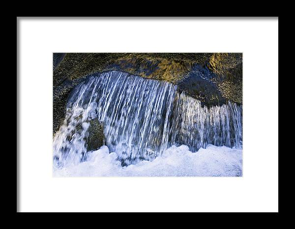 Mp Framed Print featuring the photograph Creek In Mount Rainier National Park by Konrad Wothe