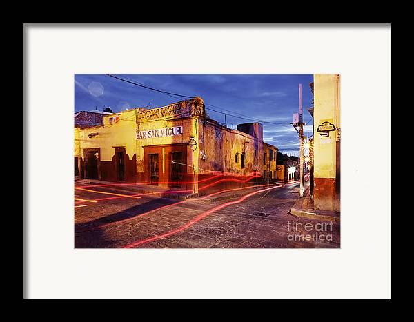 Architecture Framed Print featuring the photograph Crossroads by Jeremy Woodhouse