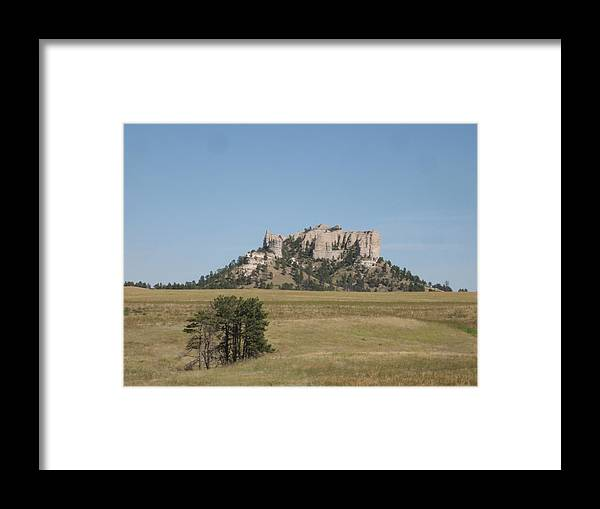 High Plains Framed Print featuring the photograph Crow Butte by J W Kelly