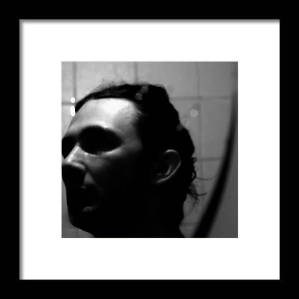 Framed Print featuring the photograph Crystal Horns Behind A Tail by Kristijan Krsteski