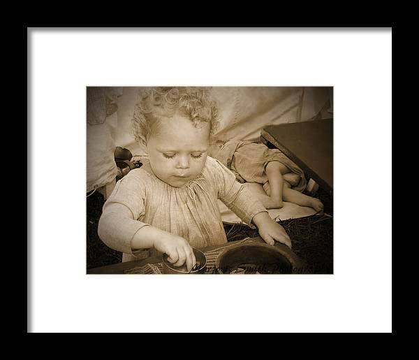 Curly Hair Framed Print featuring the photograph Curly Locks by Marjorie Smith