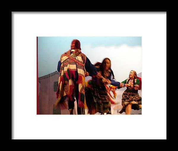 Peru Framed Print featuring the photograph Cuzco by Zofia Kijak