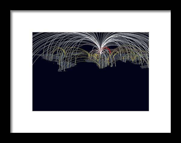 Earth Framed Print featuring the photograph Cyber Warfare, Conceptual Image by Claus Lunau