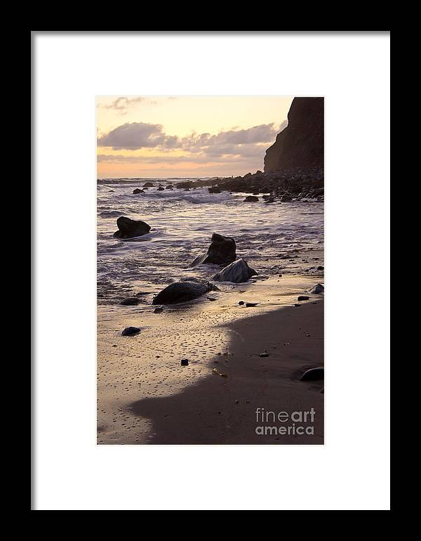 Sea Framed Print featuring the photograph Dana Point by Athena Lin