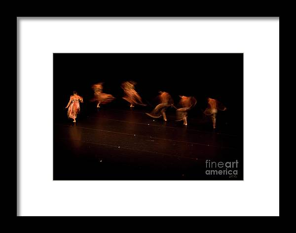 Dance Framed Print featuring the photograph Dancing Ghosts by Diego Re