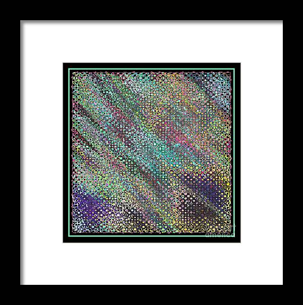 Abstract Framed Print featuring the photograph Dare To Be Different by Carol Groenen