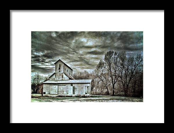 Art Framed Print featuring the photograph Dark Skies by Elizabeth Wilson